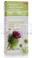Шампунь против перхоти для всех типов волос с экстрактом корня лопуха и ромашки - Pharma Group Matricaria Chamomilla  200мл