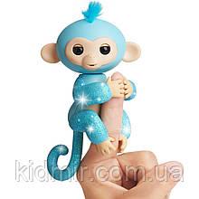Обезьянка интерактивная Амелия Fingerlings Monkey Glitter WowWee Оригинал
