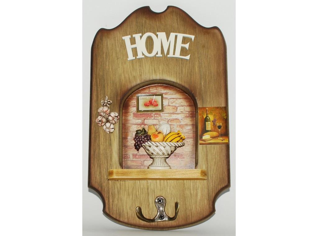 Ключница деревянная  25*17см