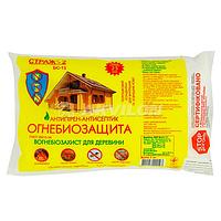 Вогнебіозахист для деревини СТРАЖ-2,(порошковий концентрат) пак.3,0кг 1/10
