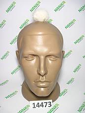 Меховой помпон Норка, Топленый, 5 см, 14473, фото 2