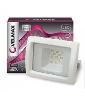 LED Прожектор VELMAX Белый, 10W, 6200K, 900LM, угол 120 °