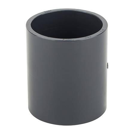 Муфта ПВХ ERA соеденительная, диаметр 32 мм., фото 2
