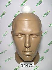 Меховой помпон Норка, Кремовый, 4 см, 14479, фото 2