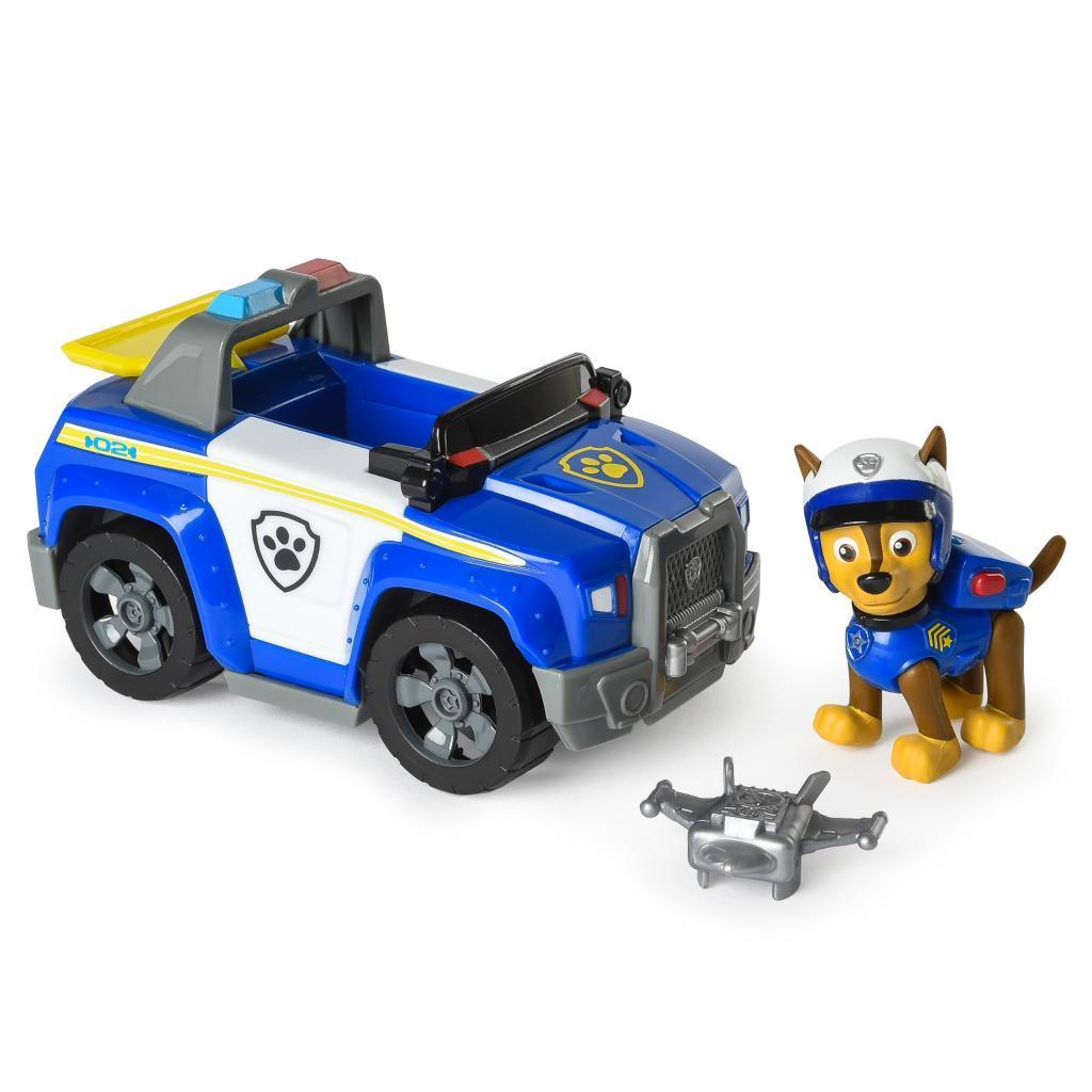 Paw Patrol Щенячий патруль Гонщик на полицейской машине Chase's Patrol Cruiser