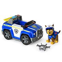Paw Patrol Щенячий патруль Гонщик на полицейской машине Chase's Patrol Cruiser, фото 1