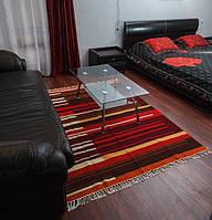 Комплект ковров ручной работы - овечья шерсь, украинское барокко, ручная вязка.