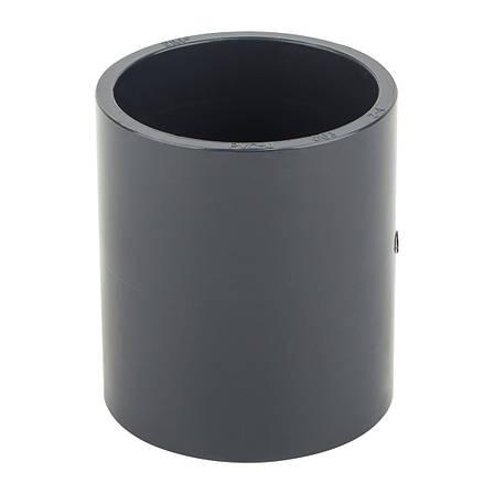 Муфта ПВХ ERA соеденительная, диаметр 75 мм., фото 2