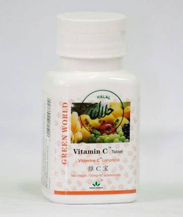 """Витамин С (в таблетках) """"Green World"""" 60 таблеток по 700мг., фото 2"""