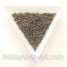 Бусины  Кримп 2 мм (зажимные) бронза (вес 5г)