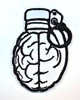 Нашивка патч Взрыв Мозга