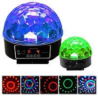 Диско шар Лампа Led Сrystal Magic Ball Light
