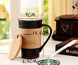Керамічна чашка Starbucks Memo, Старбакс Мемо оригінальна кружка-органайзер для гарячих напоїв, фото 2