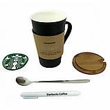 Керамічна чашка Starbucks Memo, Старбакс Мемо оригінальна кружка-органайзер для гарячих напоїв, фото 5