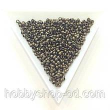 Бусины  Кримп 2,5 мм (зажимные) бронза (вес 5г)