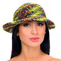 Шапка, шапка-шляпка, женская вязаная шапка, HandMade шапка, модная стильная шапка, фото 1