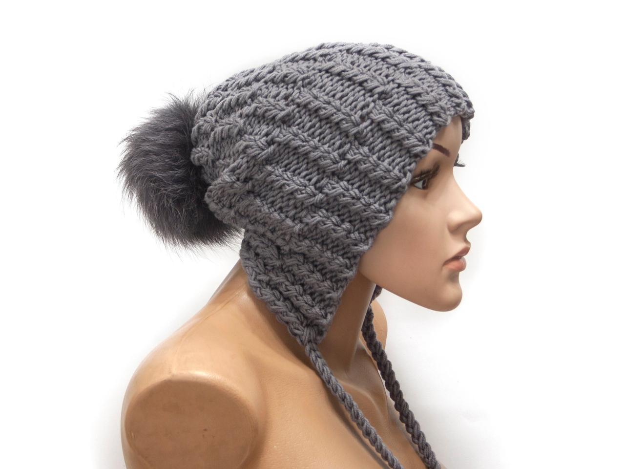 Шапка, женская вязаная шапка, пом пом шапка, HandMade шапка, модная стильная шапка