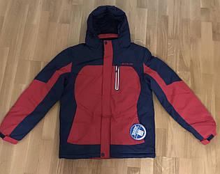 Зимняя подростковая куртка для мальчика Columbia , M - 2XL