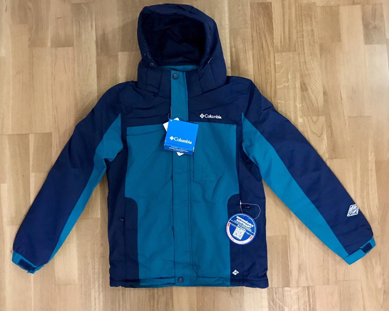 Зимняя Подростковая Куртка для Мальчика Columbia  b58009b530987