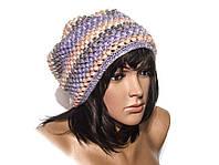 Шапка, женская вязаная шапка, объемная шапка, Unisex, HandMade шапка, модная стильная шапка, фото 1