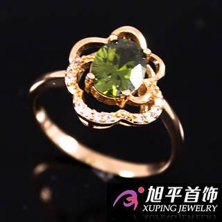 Кольцо лимонное золото (Ширина: 13 мм.)