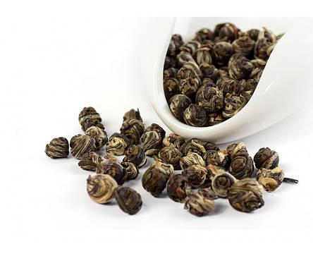 Китайский чай Хуа Лун Чжу (Жасминовая жемчужина) 100 грамм, фото 2