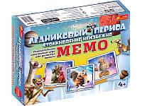 """Ранок Кр. 1986 Настільна гра """"Мемо. Льодовикови"""""""