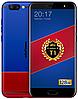 "Ulefone T1 Premium blue-red 6/128 Gb, 5.5"", Helio P25, 3G, 4G"