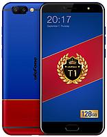 "Ulefone T1 Premium blue-red 6/128 Gb, 5.5"", Helio P25, 3G, 4G, фото 1"