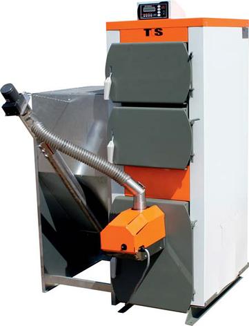Котел твердотопливный TIS DUO PELLET 65 кВт., фото 2