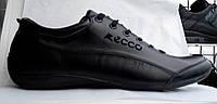 Мужские кожаные туфли на шнурке (спорт)
