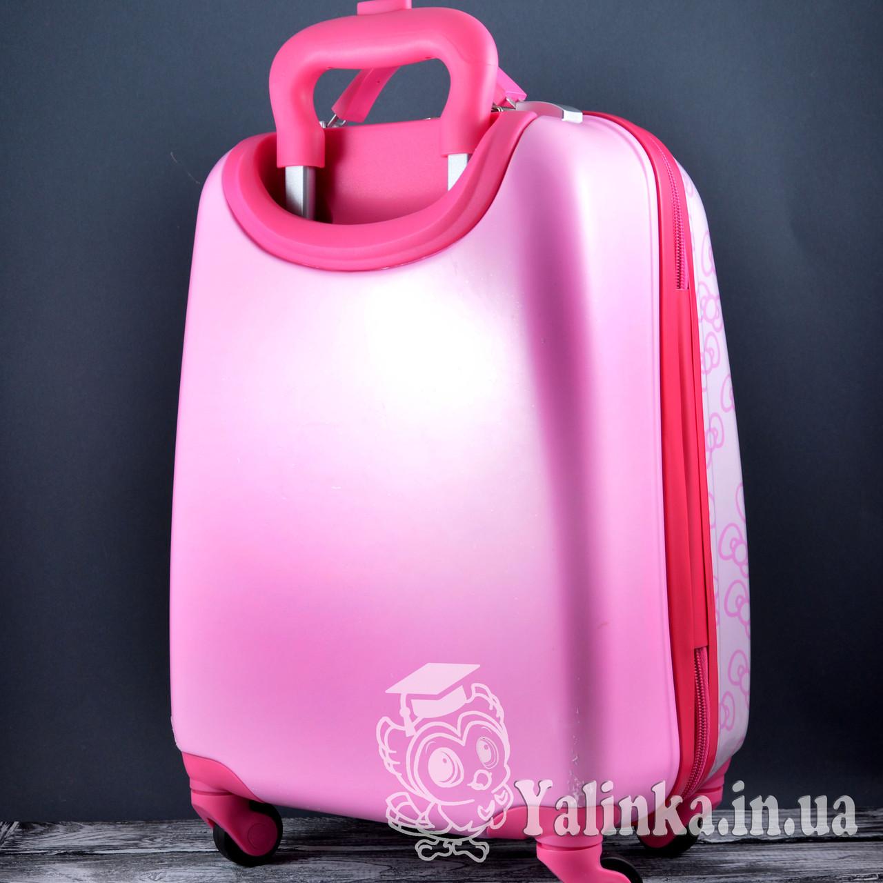 be4ae373acb9 Чемодан дорожный для детейна 4-х колесах Hello Kitty HK-701, цена 850,25  грн., купить в Харькове — Prom.ua (ID#799133781)
