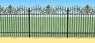 """Металлический забор """"Дворцовый"""" из сваренных сеткций"""