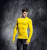 Термофутболка с длинными рукавами SELECT (желтая), фото 2