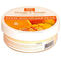 Крем-масло для тела с маслом амаранта (Апельсин и Манго) - Fresh Juice Orange & Mango 225ml