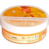 Сахарный скраб для тела (Апельсин и Манго) - Fresh Juice Orange and Mango 225ml