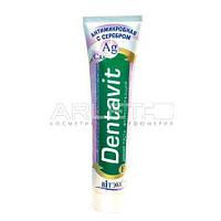 Зубная паста  антимикробная фторсодержащая с серебром - Витэкс Dentavit 160мл.
