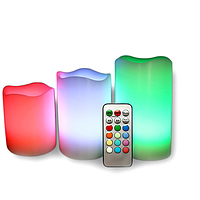 Набор светодиодных свечей Luma Candles Color Changing Разнозветный