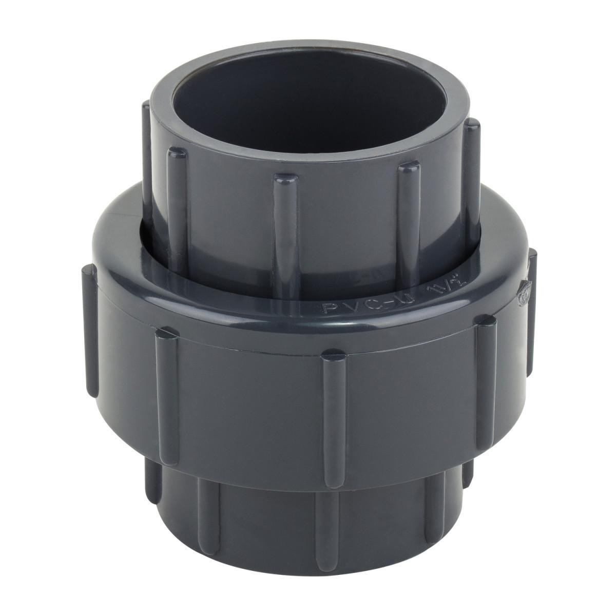 Муфта ПВХ ERA разборная клей-клей, диаметр 75 мм.