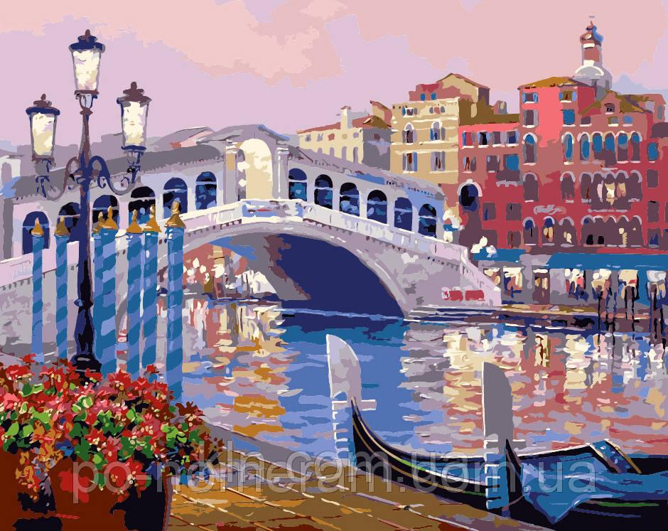Картина по номерам Menglei MG1091 Прекрасная венеция 40 х 50 см 950