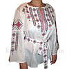 Традиційна жіноча вишиванка біла