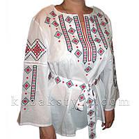 Традиційна жіноча вишиванка біла, фото 1