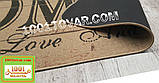 """Килимок кухонний з льону на гумовій основі """"Home"""" 140х70х0,5 див., фото 5"""