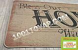 """Килимок кухонний з льону на гумовій основі """"Home"""" 140х70х0,5 див., фото 6"""