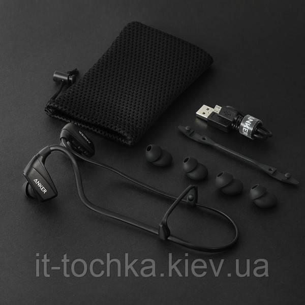 Беспроводная гарнитура anker soundbuds sport nb10 black (a3260h11)