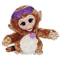 Интерактивная обезьянка Джиджи FurReal Friends Baby Cuddles My Giggly Monkey Оригинал Hasbro
