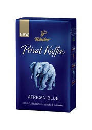 Кофе молотый Tchibo Privat Kaffee African Blue, 250 г