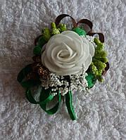 Бутоньерки с розой, любой цвет, фото 1