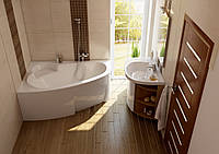 Акриловая ванна Asymmetric (L/R)  160x105