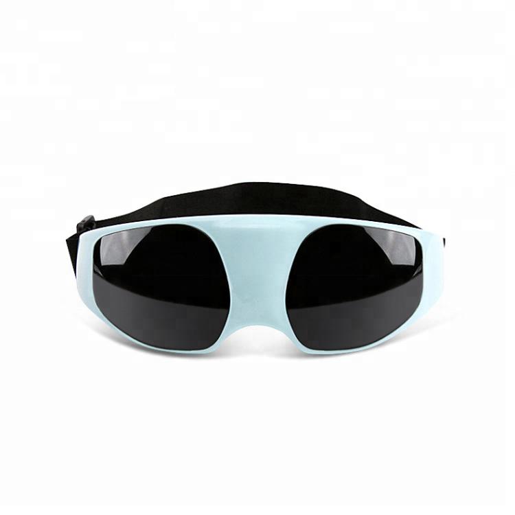 Массажные очки SUNROZ Massage Glasses для глаз Голубой (SUN2321)